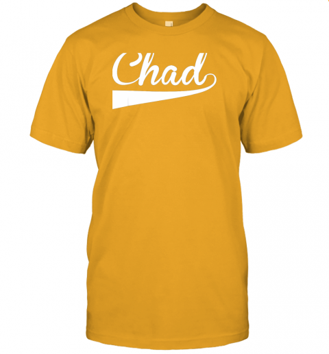 ovom chad country name baseball softball styled jersey t shirt 60 front gold
