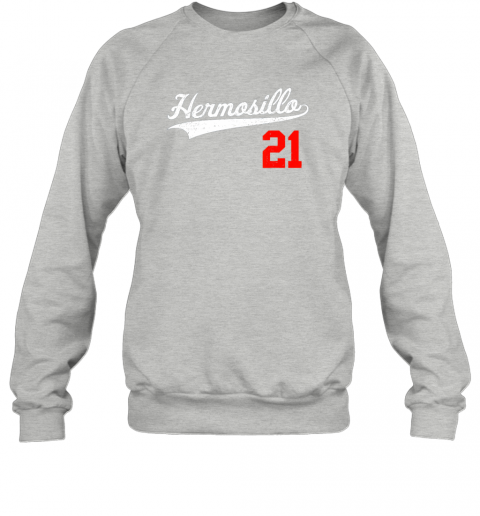 ayvc hermosillo shirt in baseball style for mexican fans sweatshirt 35 front sport grey