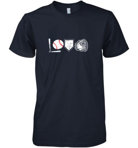 abk0 i love baseball baseball heart premium guys tee 5 front midnight navy