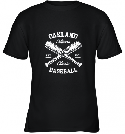 Oakland Baseball, Classic Vintage California Retro Fans Gift Youth T-Shirt
