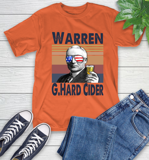 Warren G.Hard Cider Drink Independence Day The 4th Of July Shirt T-Shirt 4