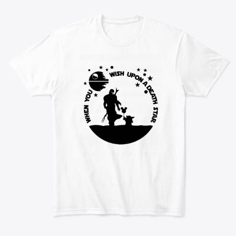When You Wish Upon A Death Star The Mandalorian Baby Yoda T-Shirt