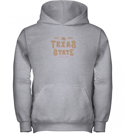 wl6c texas state bobcats womens college ncaa youth hoodie 43 front sport grey