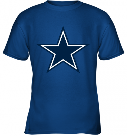 Dallas Cowboys NFL Pro Line by Fanatics Branded Gray Victory Youth T-Shirt