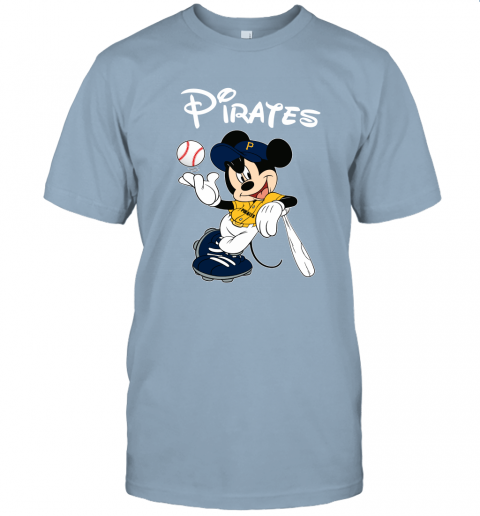 s0ws baseball mickey team pittsburgh pirates jersey t shirt 60 front light blue