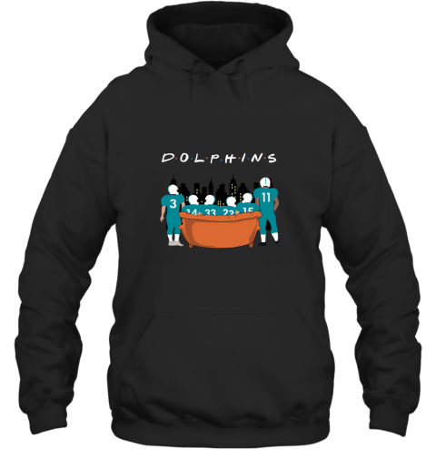 The Miami Dolphins Together F.R.I.E.N.D.S NFL Hoodie