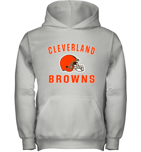 Cleveland Browns NFL Line by Fanatics Branded Brown Victory Youth Hoodie