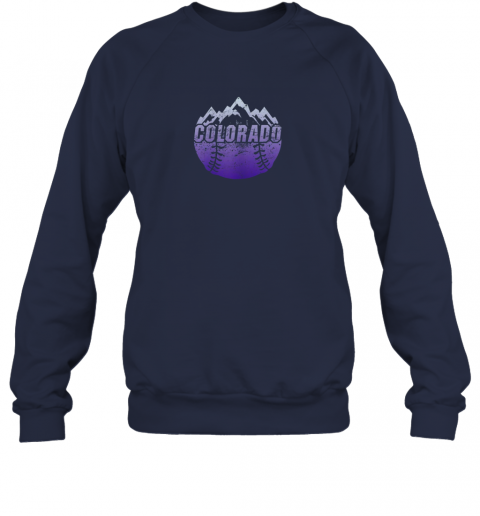 cr0h colorado baseball rocky mountains sweatshirt 35 front navy