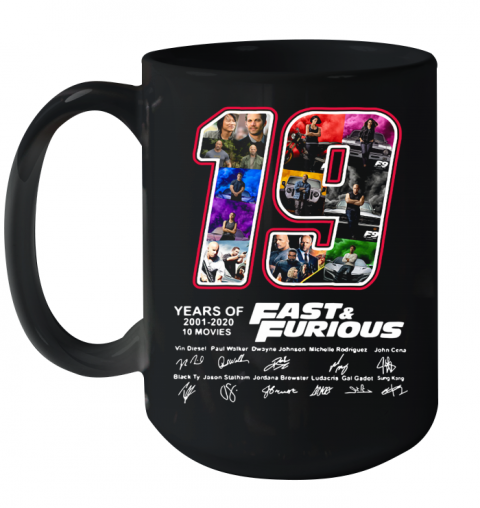 19 Years Of Fast Ceramic Mug 15oz