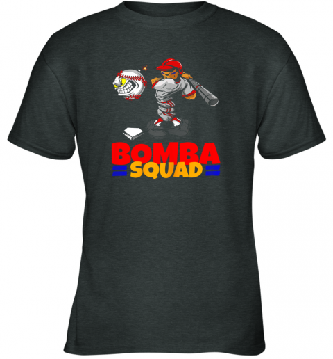 qt7r bomba squad twins shirt for men women baseball minnesota youth t shirt 26 front dark heather