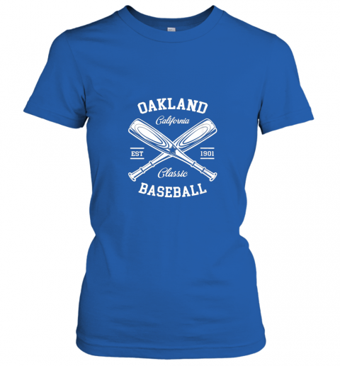 axv4 oakland baseball classic vintage california retro fans gift ladies t shirt 20 front royal