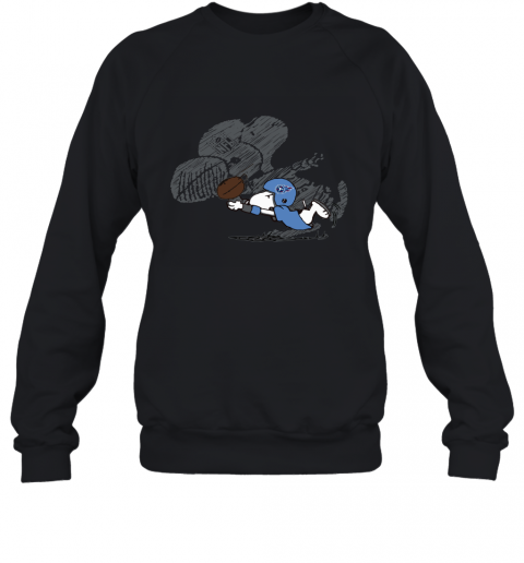 Tennessee Titans Snoopy Plays The Football Game Sweatshirt