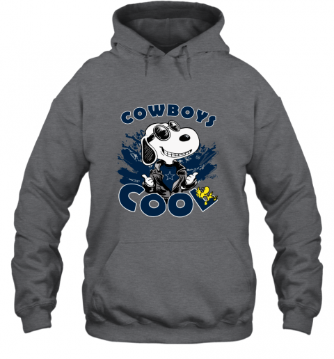 p96o dallas cowboys snoopy joe cool were awesome shirt hoodie 23 front dark heather