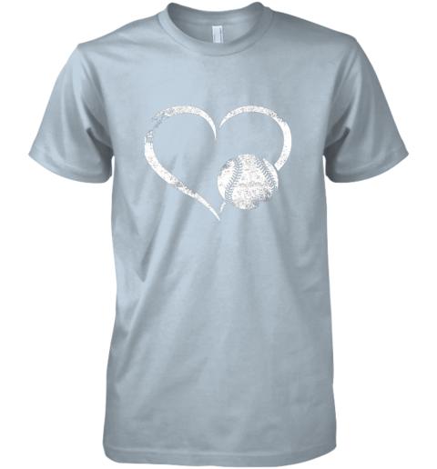 x8y1 i love baseballl funny baseball lover heartbeat premium guys tee 5 front light blue