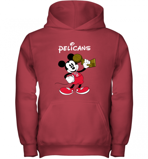 Mickey New Orleans Pelicans Youth Hoodie