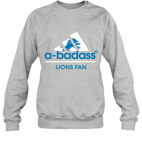 fu1p a badass detroit lions mashup adidas nfl sweatshirt 35 front sport grey
