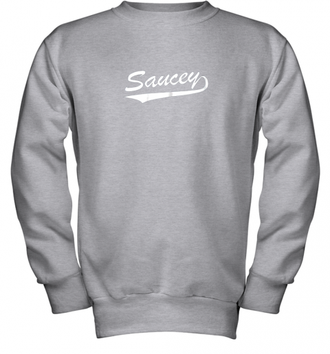 afbh saucey swag baseball youth sweatshirt 47 front sport grey