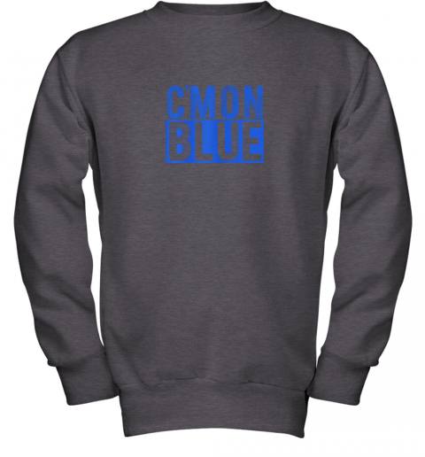 5774 cmon blue umpire baseball fan graphic lover gift youth sweatshirt 47 front dark heather