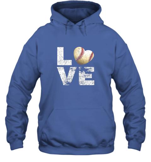 znls i love baseball funny gift for baseball fans lovers hoodie 23 front royal