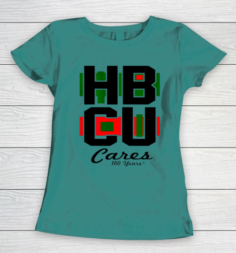 HBCU Cares College University Graduation Gift Black School Women's T-Shirt 10