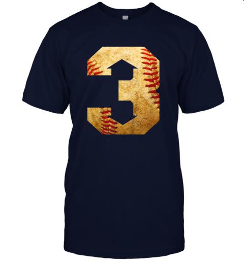 yt8u three up three down baseball 3 up 3 down jersey t shirt 60 front navy