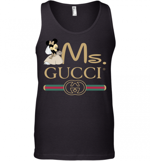 Gucci Couple Disney Ms Minnie Valentine's Day Gift Mens Tank Top