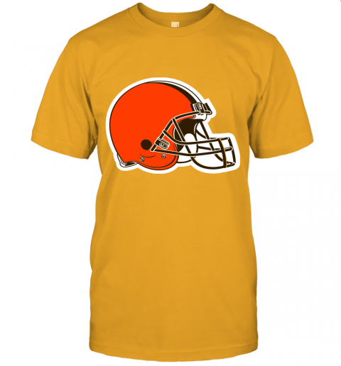 cpuw cleveland browns nfl pro line by fanatics branded brown victory jersey t shirt 60 front gold