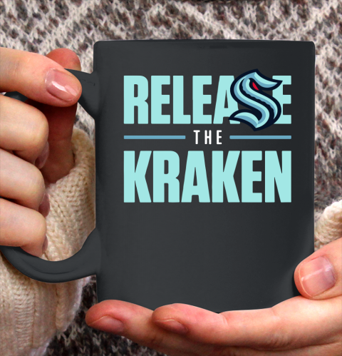 Release The Kraken T Shirt – Seattle Kraken Ceramic Mug 11oz