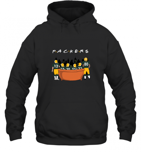 The Green Bay Packers Together F.R.I.E.N.D.S NFL Hoodie
