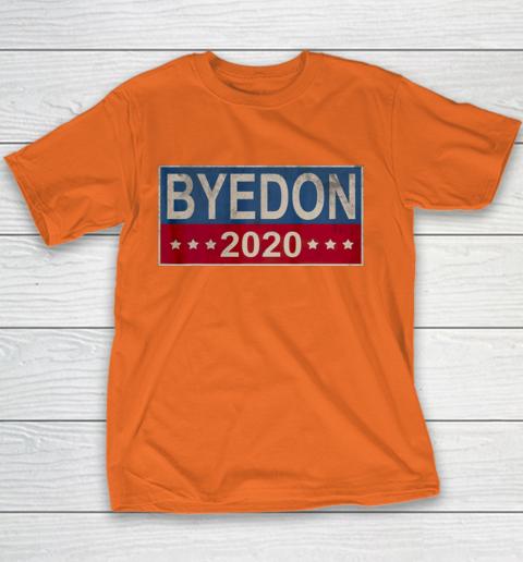 Bye Don 2020 ByeDon Button Joe Biden Funny Anti Trump Youth T-Shirt 3