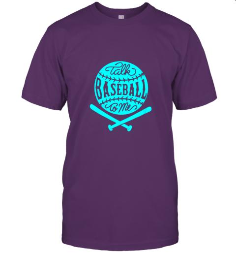 2zwo talk baseball to me groovy ball bat silhouette jersey t shirt 60 front team purple