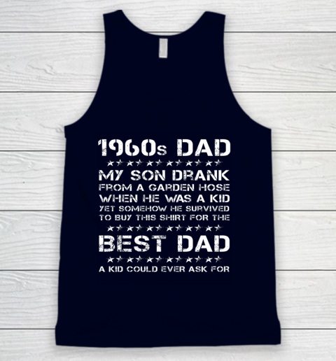 Funny 1960s Dad And Son Father's Day Tank Top 8