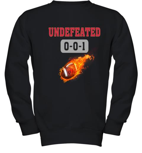 NFL HOUSTON TEXANS LOGO Undefeated Youth Sweatshirt