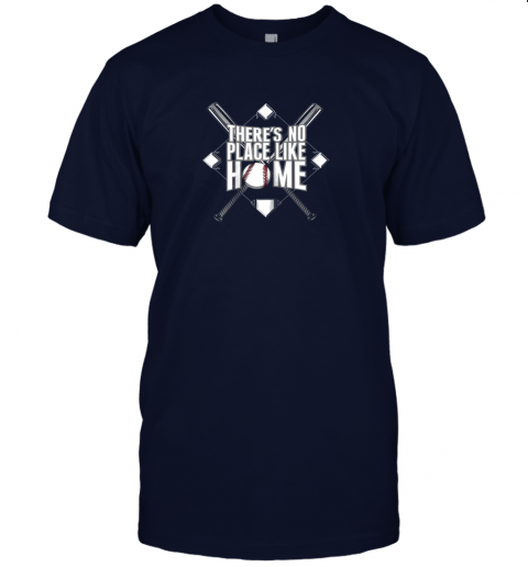 srw7 there39 s no place like home baseball tshirt mom dad youth jersey t shirt 60 front navy