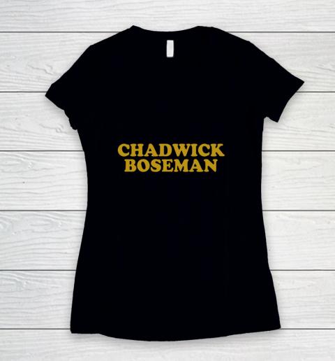 Boseman Forever 1977  2020 Women's V-Neck T-Shirt
