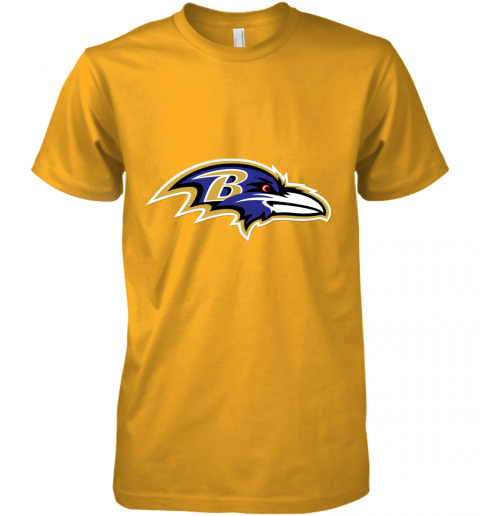 yu6w mens baltimore ravens nfl pro line by fanatics branded gray victory arch t shirt 2 premium guys tee 5 front gold