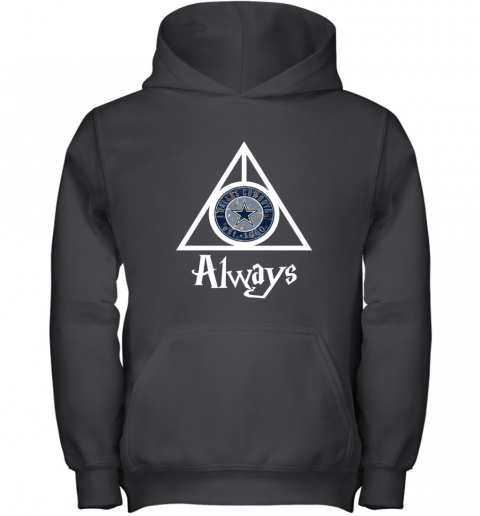 Always Love The Dallas Cowboys x Harry Potter Mashup NFL Youth Hoodie