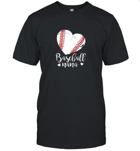 Funny Baseball Nana Shirt Gift For Men Women Unisex Jersey Tee