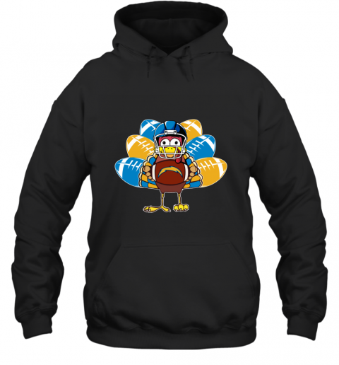 Los Angeles Chargers  Thanksgiving Turkey Football NFL Hoodie