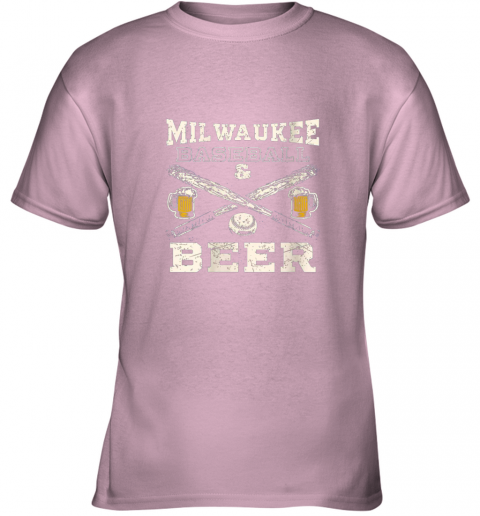 9vew love milwaukee love baseball youth t shirt 26 front light pink