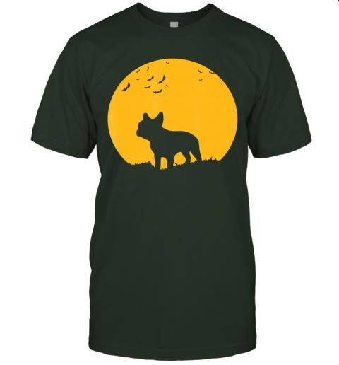 French Bulldog Moon, Halloween Inspired Design T-Shirt
