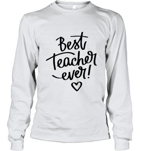BEST TEACHER EVER Youth Long Sleeve