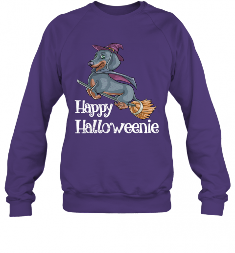 Halloween Dachshund Dog Shirt Funny Costume Scary Gift Sweatshirt