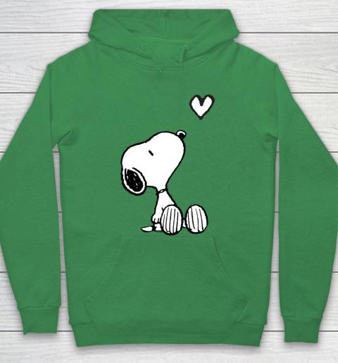 Peanuts Valentine Snoopy Heart Hoodie 5