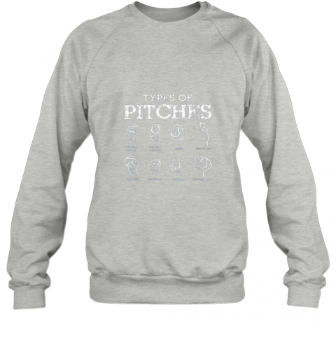r6tc types of pitches softball baseball team sport sweatshirt 35 front sport grey