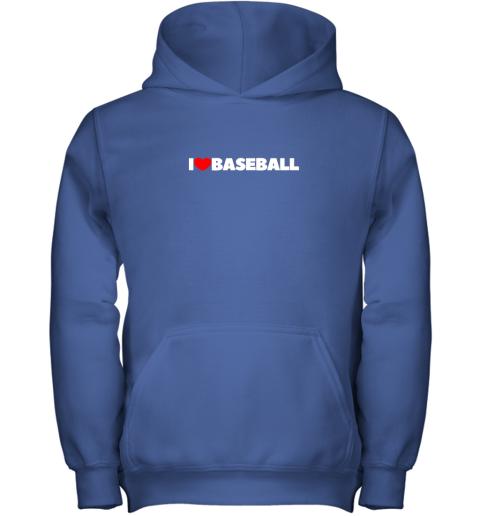 pymg i love heart baseball youth hoodie 43 front royal