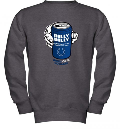 Bud Light Dilly Dilly! Indianapolis Colts Birds Of A Cooler Youth Sweatshirt