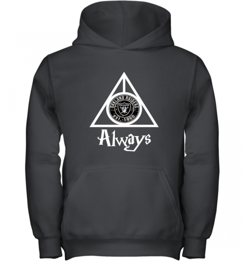 Always Love The Oakland Raiders x Harry Potter Mashup NFL Youth Hoodie