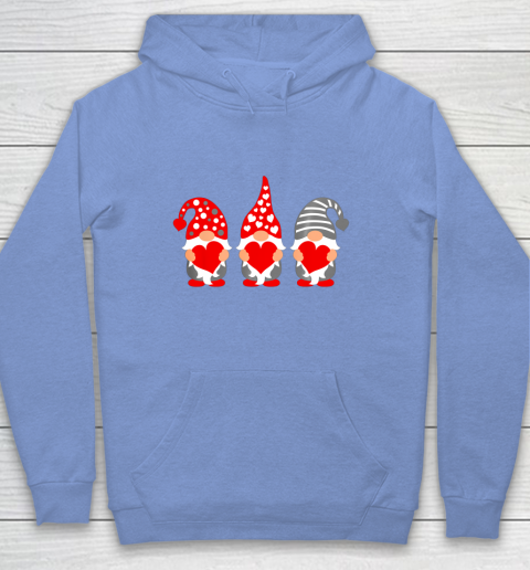 Gnomes Hearts Valentine Day Shirts For Couple Hoodie 8