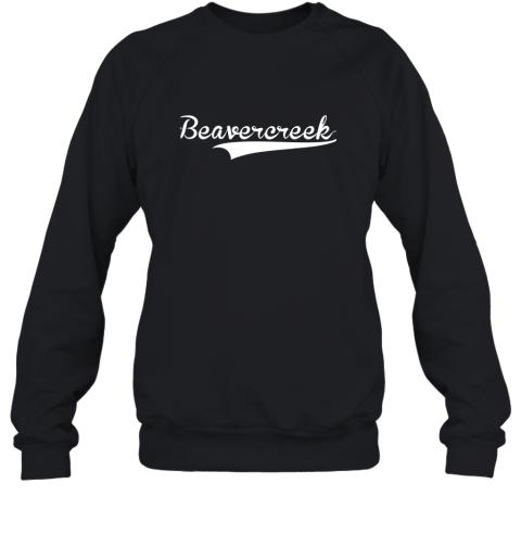 BEAVERCREEK Baseball Styled Jersey Shirt Softball Sweatshirt